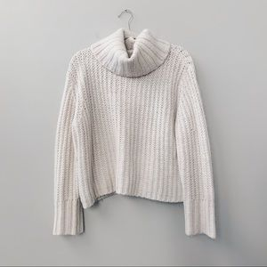 TOPSHOP Chunky Turtleneck Sweater Long Sleeve